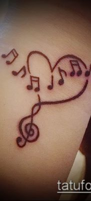 Фото музыкальных тату – 19062017 – пример – 017 Musical Tattoos – tatufoto.com