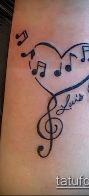 Фото музыкальных тату – 19062017 – пример – 023 Musical Tattoos – tatufoto.com