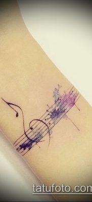 Фото музыкальных тату – 19062017 – пример – 028 Musical Tattoos – tatufoto.com