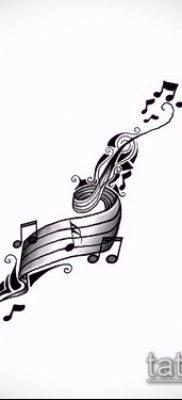 Фото музыкальных тату – 19062017 – пример – 037 Musical Tattoos – tatufoto.com