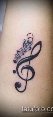 Фото музыкальных тату – 19062017 – пример – 043 Musical Tattoos – tatufoto.com