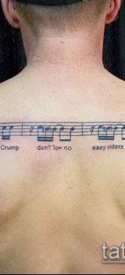 Фото музыкальных тату – 19062017 – пример – 052 Musical Tattoos – tatufoto.com