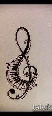 Фото музыкальных тату – 19062017 – пример – 053 Musical Tattoos – tatufoto.com
