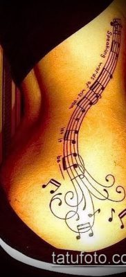 Фото музыкальных тату – 19062017 – пример – 116 Musical Tattoos – tatufoto.com