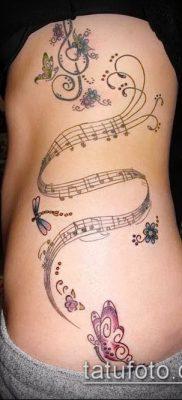 Фото музыкальных тату – 19062017 – пример – 124 Musical Tattoos – tatufoto.com