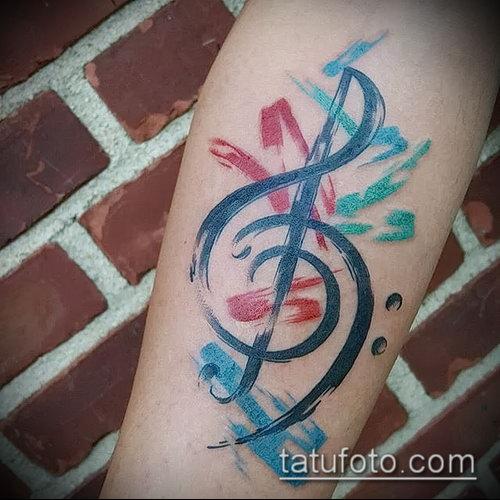 Фото музыкальных тату - 19062017 - пример - 128 Musical Tattoos - tatufoto.com