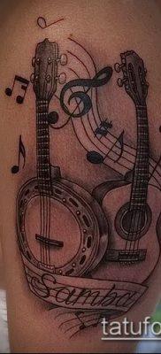 Фото музыкальных тату – 19062017 – пример – 130 Musical Tattoos – tatufoto.com