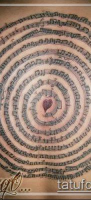 Фото музыкальных тату – 19062017 – пример – 140 Musical Tattoos – tatufoto.com