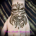 Фото рисунок совы хной мехенди - 04062017 - пример - 016 owl henna