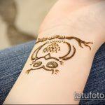 Фото рисунок совы хной мехенди - 04062017 - пример - 019 owl henna