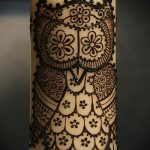Фото рисунок совы хной мехенди - 04062017 - пример - 023 owl henna.286653760