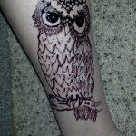 Фото рисунок совы хной мехенди - 04062017 - пример - 039 owl henna