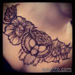 Фото рисунок совы хной мехенди - 04062017 - пример - 042 owl henna
