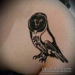 Фото рисунок совы хной мехенди - 04062017 - пример - 045 owl henna