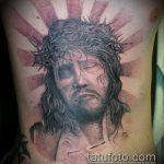 Фото тату Иисуса Христа №673 - достойный вариант рисунка, который успешно можно использовать для переработки и нанесения как тату иисуса христа в кресте