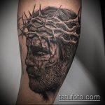Фото тату Иисуса Христа №536 - эксклюзивный вариант рисунка, который легко можно использовать для доработки и нанесения как тату иисуса христа на запястье