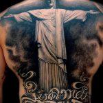 Фото тату Иисуса Христа №333 - достойный вариант рисунка, который хорошо можно использовать для переработки и нанесения как тату иисуса христа в кресте