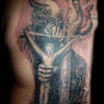 Фото тату Иисуса Христа №427 - достойный вариант рисунка, который удачно можно использовать для переделки и нанесения как тату иисуса христа на запястье
