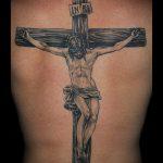 Фото тату Иисуса Христа №425 - эксклюзивный вариант рисунка, который хорошо можно использовать для переделки и нанесения как тату иисуса христа на запястье