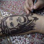 Фото тату Иисуса Христа №348 - классный вариант рисунка, который хорошо можно использовать для переработки и нанесения как тату иисуса христа в кресте