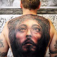 Фото тату Иисуса Христа