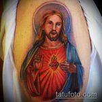 Фото тату Иисуса Христа №85 - эксклюзивный вариант рисунка, который хорошо можно использовать для доработки и нанесения как тату иисуса христа в кресте