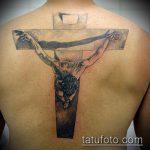 Фото тату Иисуса Христа №97 - крутой вариант рисунка, который легко можно использовать для доработки и нанесения как тату иисуса христа на груди