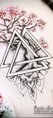 Фото тату бонсай – 19062017 – пример – 014 Bonsai tattoo – tatufoto.com