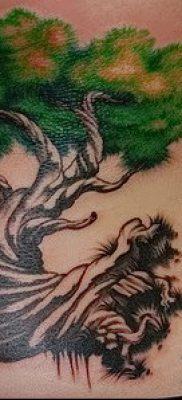 Фото тату бонсай – 19062017 – пример – 018 Bonsai tattoo – tatufoto.com