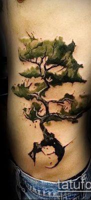 Фото тату бонсай – 19062017 – пример – 025 Bonsai tattoo – tatufoto.com