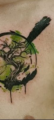 Фото тату бонсай – 19062017 – пример – 035 Bonsai tattoo – tatufoto.com