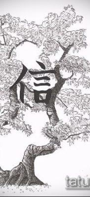 Фото тату бонсай – 19062017 – пример – 053 Bonsai tattoo – tatufoto.com