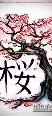 Фото тату бонсай – 19062017 – пример – 062 Bonsai tattoo – tatufoto.com