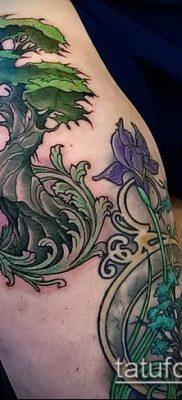 Фото тату бонсай – 19062017 – пример – 064 Bonsai tattoo – tatufoto.com