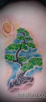 Фото тату бонсай – 19062017 – пример – 075 Bonsai tattoo – tatufoto.com