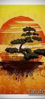 Фото тату бонсай – 19062017 – пример – 076 Bonsai tattoo – tatufoto.com