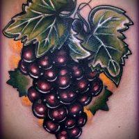 Значение тату виноград