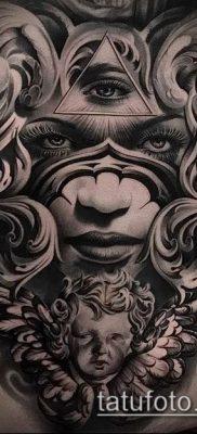 Фото тату в стиле Чикано – 05062017 – пример – 001 Tattoo in the style of Chicano