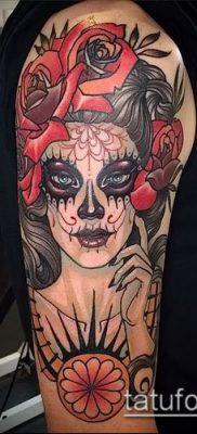 Фото тату в стиле Чикано – 05062017 – пример – 002 Tattoo in the style of Chicano