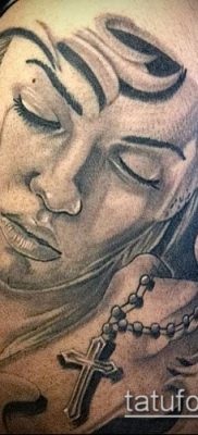 Фото тату в стиле Чикано – 05062017 – пример – 006 Tattoo in the style of Chicano