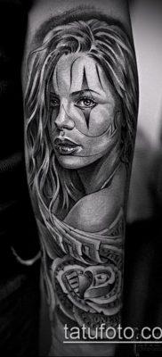 Фото тату в стиле Чикано – 05062017 – пример – 007 Tattoo in the style of Chicano