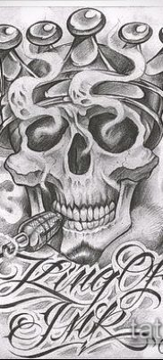 Фото тату в стиле Чикано – 05062017 – пример – 008 Tattoo in the style of Chicano