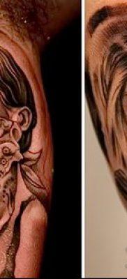 Фото тату в стиле Чикано – 05062017 – пример – 012 Tattoo in the style of Chicano