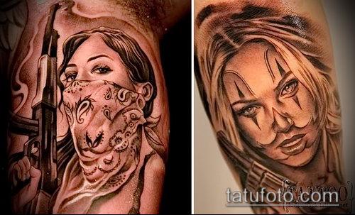 Фото тату в стиле Чикано - 05062017 - пример - 012 Tattoo in the style of Chicano