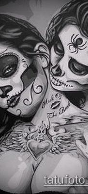 Фото тату в стиле Чикано – 05062017 – пример – 013 Tattoo in the style of Chicano