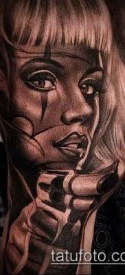 Фото тату в стиле Чикано – 05062017 – пример – 015 Tattoo in the style of Chicano