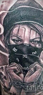 Фото тату в стиле Чикано – 05062017 – пример – 022 Tattoo in the style of Chicano