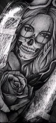 Фото тату в стиле Чикано – 05062017 – пример – 028 Tattoo in the style of Chicano
