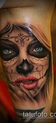 Фото тату в стиле Чикано – 05062017 – пример – 029 Tattoo in the style of Chicano