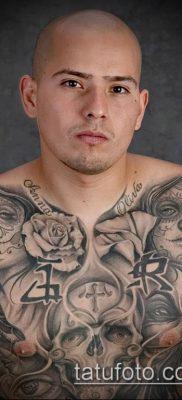 Фото тату в стиле Чикано – 05062017 – пример – 037 Tattoo in the style of Chicano